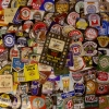 100 different British & Irish Pub Brewery Beer Bottle Labels