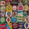 25 different British & Irish Pub Brewery Beer Bottle Labels