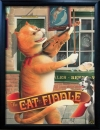 CAT & FIDDLE Pub Sign Art Poster Print