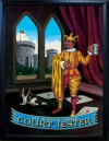 COURT JESTER Pub Sign Art Poster Print