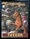 HIGHWAYMAN'S TAVERN Pub Sign Art Poster Print