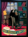 HONEST LAWYER Pub Sign Art Poster Print